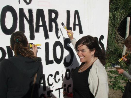 Mariana Lorenzo nos contó cómo se dio la conexión entre APB y su primer mural